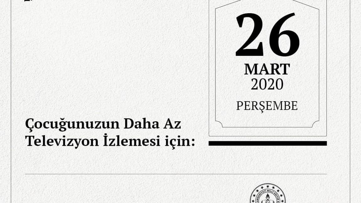 Daha Az Televizyon Mehmet Yaren Gumeli Ilkokulu